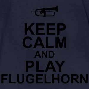 Keep Calm and play Flugelhorn Sweaters - Mannen Bio-T-shirt