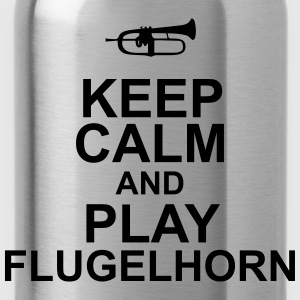 Keep Calm and play Flugelhorn Koszulki - Bidon