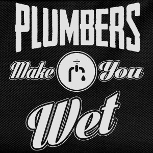 Plumbers make you wet T-Shirts - Kinder Rucksack