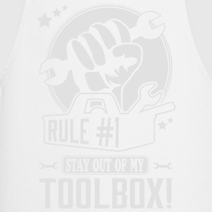 Rule #1: stay out of my toolbox Magliette - Grembiule da cucina