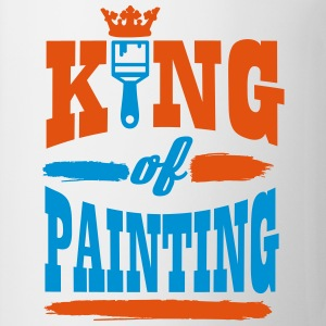 king of painting T-shirts - Mok