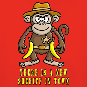 cowboy_affe_new_sheriff_112015_a T-Shirts - Kinder Premium Hoodie
