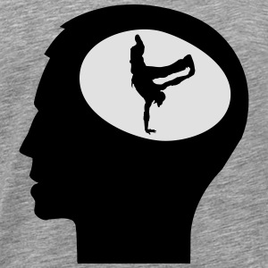 Only Breakdance On My Mind Långärmade T-shirts - Premium-T-shirt herr