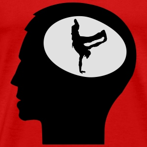Only Breakdance On My Mind Langærmede T-shirts - Herre premium T-shirt