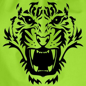 Tiger face 1 T-Shirts - Turnbeutel