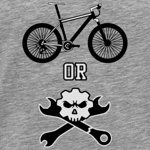 Ride or die Mechaniker Tops - Männer Premium T-Shirt