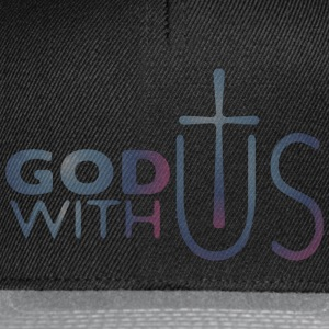 God with us Sportbekleidung - Snapback Cap