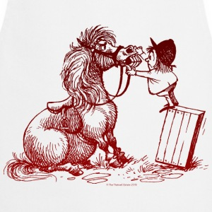 Thelwell - Pony with dentist Magliette - Grembiule da cucina