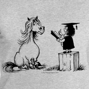 Thelwell - Pony is learning at school - Sudadera hombre de Stanley & Stella