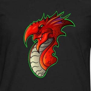 Welsh Dragon - Men's Premium Longsleeve Shirt