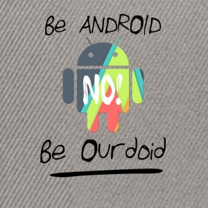 be android - Snapback Cap