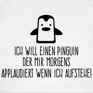 I want a penguin with applauding! (2015) Sports wear - Baseball Cap