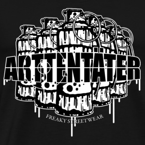 Arttentäter 2 - make art, not war Tops - Men's Premium T-Shirt