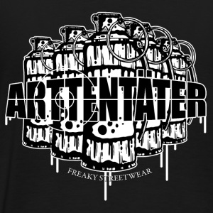 Arttentäter 2 - make art, not war Hoodies & Sweatshirts - Men's Premium T-Shirt