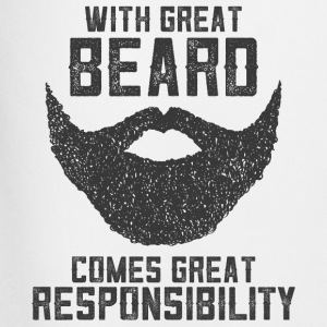 With Great Beard Comes Great Responsibility T-Shirts - Men's Football shorts