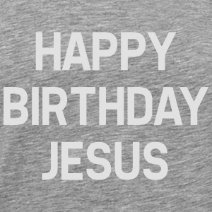 HAPPY BIRTHDAY JESUS Langarmede T-skjorter - Premium T-skjorte for menn