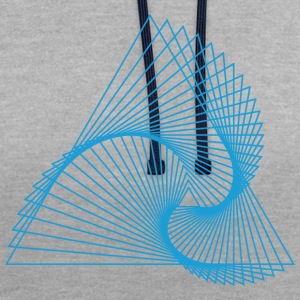 Spirangle - Sweat-shirt contraste