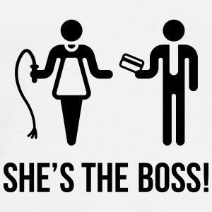 She's The Boss! (Wife & Husband) Other - Men's Premium T-Shirt