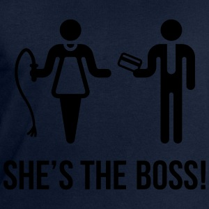 She's The Boss! (Wife & Husband) T-Shirts - Men's Sweatshirt by Stanley & Stella