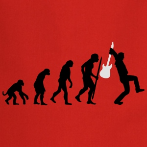 Evolution of rock Tee shirts - Tablier de cuisine