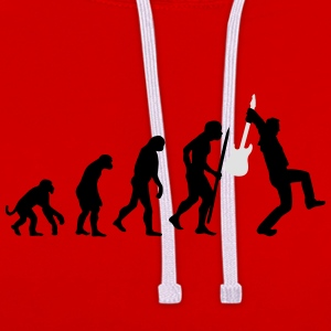 Evolution of rock Tee shirts - Sweat-shirt contraste