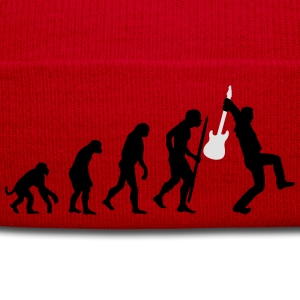 Evolution of rock Langarmshirts - Wintermütze
