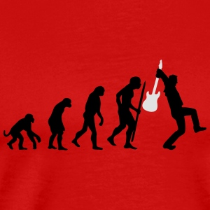 Evolution of rock Langarmshirts - Männer Premium T-Shirt