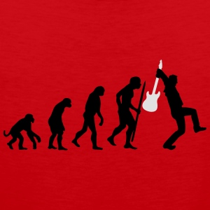 Evolution of rock Langarmshirts - Männer Premium Tank Top