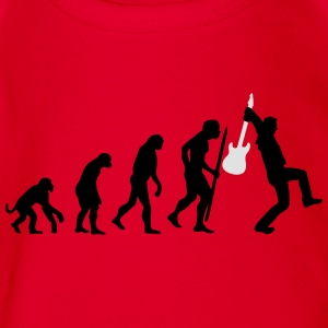Evolution of rock Tee shirts - Body bébé bio manches courtes