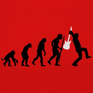 Evolution of rock Tee shirts - T-shirt manches longues Premium Femme