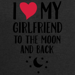 I Love (Heart) My Girlfriend To The Moon And Back Kubki i dodatki - Bluza męska Stanley & Stella