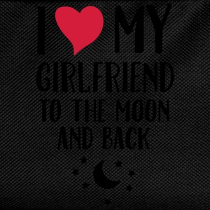 I Love (Heart) My Girlfriend To The Moon And Back T-Shirts - Kids' Backpack