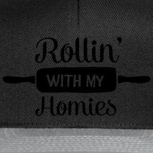 Rollin' With My Homies T-shirts - Snapback cap