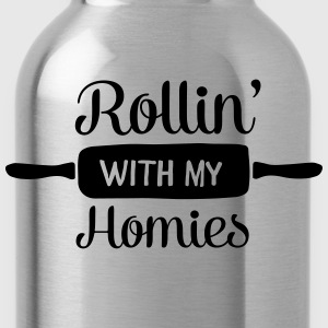 Rollin' With My Homies T-Shirts - Water Bottle