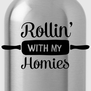 Rollin' With My Homies T-shirts - Vattenflaska