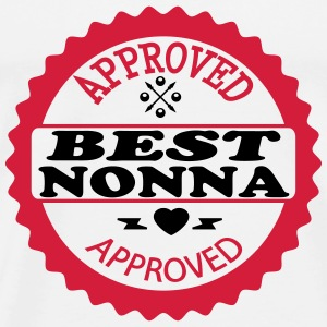 Approved best nonna Tops - Men's Premium T-Shirt