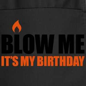 Blow me It's my birthday T-shirts - Keukenschort