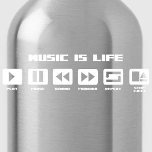 music is life Tee shirts - Gourde