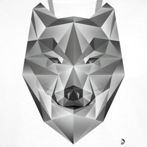 AD Grey Wolf Caps & Hats - Men's Premium Hoodie