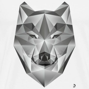 AD Grey Wolf Caps & Hats - Men's Premium T-Shirt