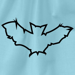 cool design mönster logotyp symbol bat bat blixt T-shirts - Gymnastikpåse