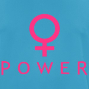 frauenpower Tops - Männer T-Shirt atmungsaktiv