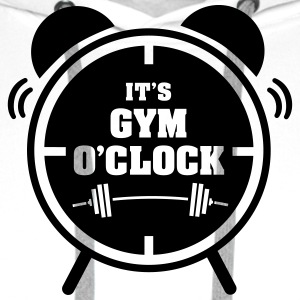 It's Gym O'Clock Tanktoppar - Premiumluvtröja herr