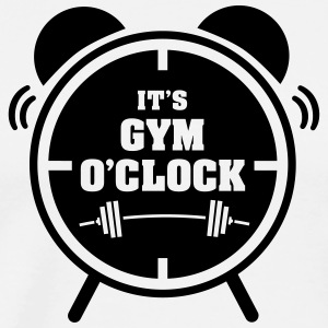It's Gym O'Clock Tank Tops - Herre premium T-shirt