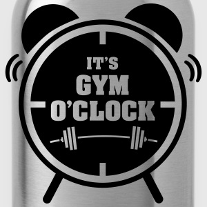 It's Gym O'Clock T-shirts - Vattenflaska