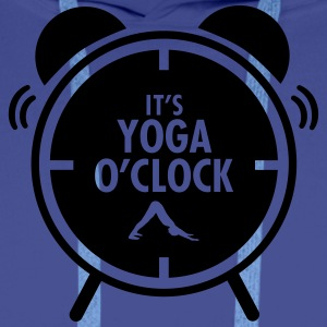 It's Yoga O'Clock T-shirts - Premiumluvtröja herr