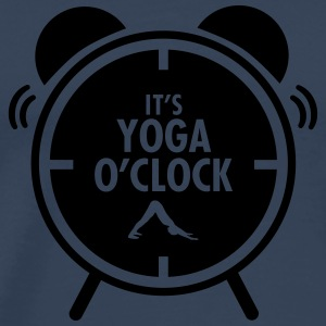 It's Yoga O'Clock Toppe - Herre premium T-shirt