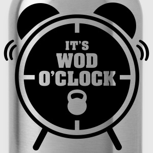It's WOD O'Clock Magliette - Borraccia