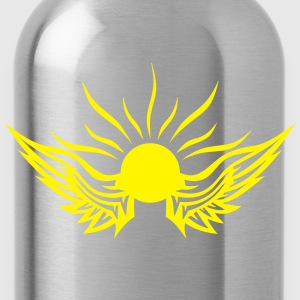 Sun wing logo 1011 Shirts - Water Bottle
