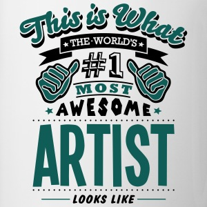 artist world no1 most awesome - Mug
